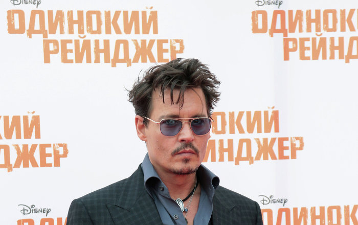 Johnny Depp, Donald Trump oldu